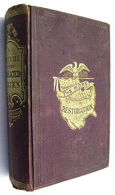 Picture of the Desolated States; and the Work of Restoration 1865-1868, ATrowbridge, J. T. - Product Image