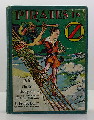 Pirates in OZThompson, Ruth Plumly, Illust. by: John R. Neill - Product Image