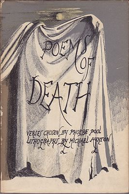 Poems of Death: Verses Chosen By Phoebe Pool / New Excursions Into English PoetryPool (Ed.), Phoebe, Illust. by: Michael  Ayrton - Product Image
