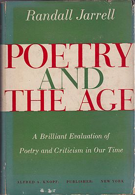 Poetry and the AgeJarrell, Randall - Product Image