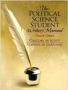 Political Science Student Writer's Manual, The Scott, Gregory M. - Product Image