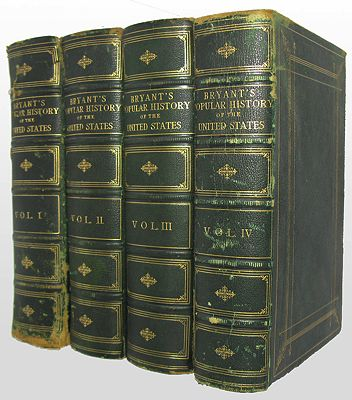 Popular History of the United States from the First Discovery of the Western Hemisphere by the Northmen to the End of the First Century of the Union of the States, A  (4 volumes )Bryant William Cullen; Sydney Howard Gay - Product Image
