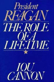 President Reagan: The Role of a LifetimeCannon, Lou - Product Image