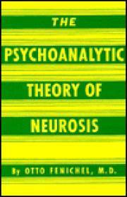 Psychoanalytic Theory of Neurosisby: Fenichel, Otto - Product Image