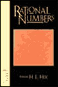 Rational Numbers: Poemsby: Hix, H. L. - Product Image