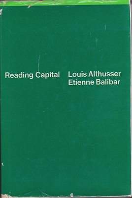 Reading CapitalLouis Althusser and Etienne Balibar  - Product Image