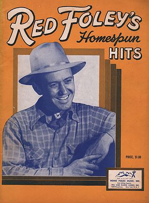 "<p class=""ttl"">Red Foley's Homespun Hits<p><br />Foley, Red</span>"