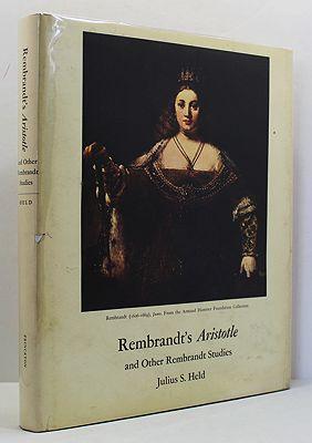Rembrandt's Aristotle and Other Rebrandt StudiesHeld, Julius S. - Product Image