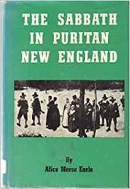 Sabbath in Puritan New England, Theby: Earle, Alice Morse - Product Image