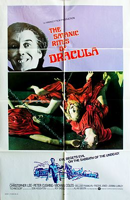 Satanic Rites of Dracula, The (MOVIE POSTER)illustrator- N/A - Product Image