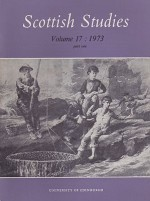 Scottish Studies: Journal of the School of Scottish Studies - Volume 17  1973 (Part 1 and 2)by: MacQueen (Ed.), J. - Product Image