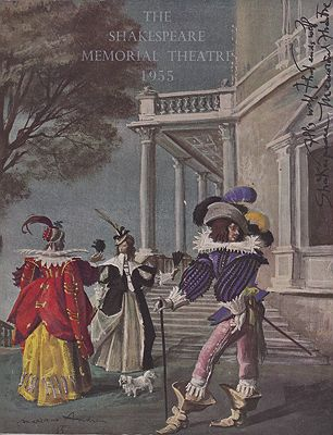 Shakespeare Memorial Theatre 1955, The Brown (Intro.), Ivor - Product Image