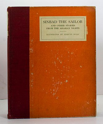 Sinbad the Sailor and other stories from the Arabian NightsDulac, Edmund, Illust. by: Edmund Dulac - Product Image