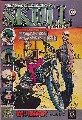 Skull Comics Vol. 1 #2Irons, Greg, Richard Corben, Gilbert Shelton, Dave Sheridan - Product Image