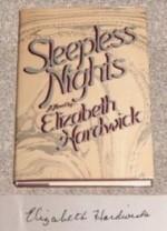 Sleepless nightsby: Hardwick, Elizabeth - Product Image