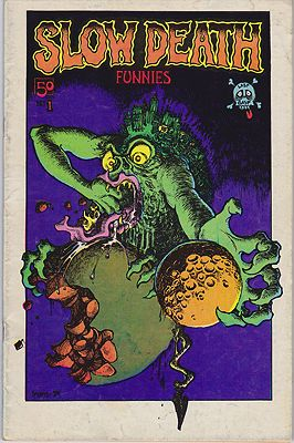 Slow Death Funnies No. 1Crumb, Robert, Gilbert Shelton, R. Cobb,  Kim Deitch, others, Illust. by: Robert  Crumb - Product Image