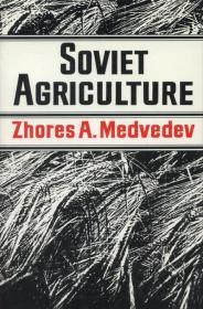Soviet Agricultureby: Medvedev, Zhores A. - Product Image