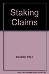 Staking Claims (SIGNED COPY)by: Edwards, Page - Product Image