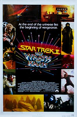 Star Trek II: The Wrath of Khan (MOVIE POSTER)N/A - Product Image