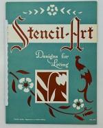 Stencil-Art - Designs for Living - No. 251Stencil-Art Publishing Company - Product Image