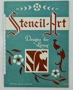 Stencil-Art - Designs for Living - No. 251Stencil-Art Publishing Company - Product Image