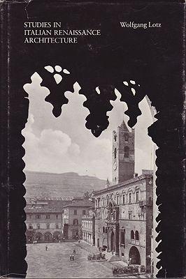 Studies in Italian Renaissance ArchitectureLotz, Wolfgang - Product Image