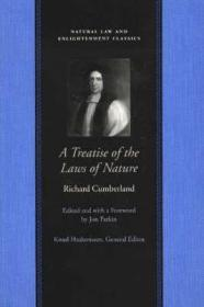 TREATISE OF THE LAWS OF NATURE, Aby: CUMBERLAND, RICHARD - Product Image