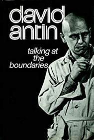 Talking at the Boundariesby- Antin, David - Product Image