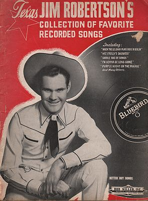 Texas Jim Robertson's Collection of Favorite Recorded SongsRobertson, Jim - Product Image