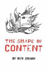 The Shape of Contentby: Shahn, Ben - Product Image