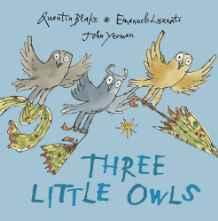 Three Little OwlsLuzzati, Emanuele, Illust. by: Quentin Blake - Product Image