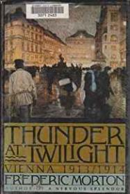 Thunder at Twilight - Vienna 1913-1914by: Morton, Frederic - Product Image