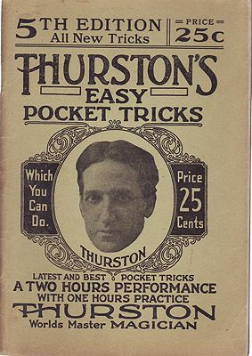Thurston's Easy Pocket Tricks - The A-B-C of Magic - Book No. 5 - All New TricksThurston, Howard - Product Image