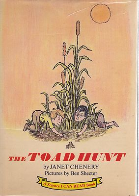 Toad Hunt, TheChenery, Janet, Illust. by: Janet  Chenery - Product Image