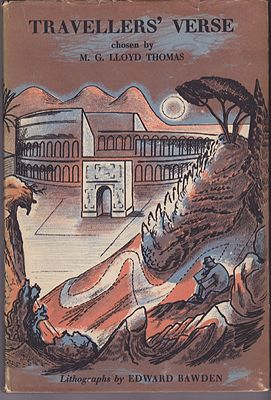 Travelers' Verse - New Excursions Into English PoetryThomas (Ed.), M.G. Lloyd, Illust. by: Edward  Bawden - Product Image