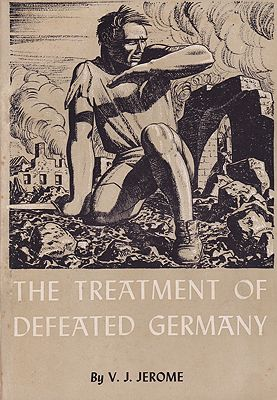 Treatment of Defeated Germany, TheJerome, V.J., Illust. by: Rockwell  Kent - Product Image