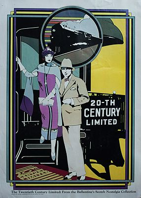 Twentieth Century Limited (POSTER)Nagel, Patrick, Illust. by: Patrick  Nagel - Product Image