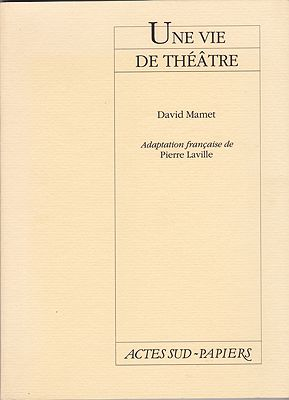 Une Vie de Theatre (French Edition)Mamet, David - Product Image