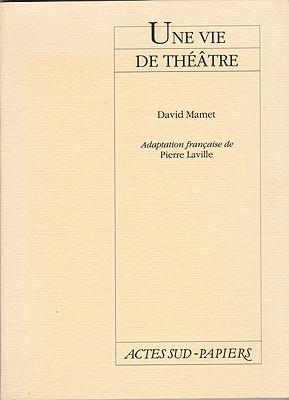 Une Vie de Theatre (French Edition)Mamet, David - Product Image