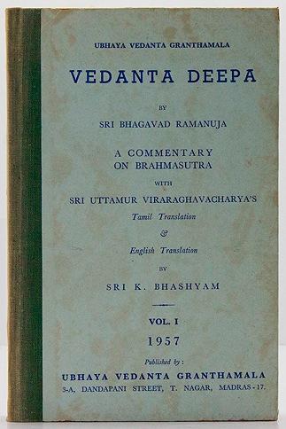 Vedanta Deepa - Volume 1Ramanuja, Sri Bhagavad - Product Image
