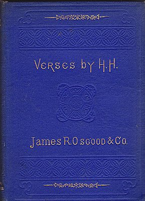 Verses by H.H.H.H. (Helen Hunt Jackson) - Product Image