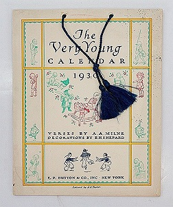 Very Young Calendar 1930, TheMilne, A.A. and E.H. Shepard - Product Image