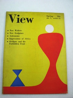 View - Series IV, No. 1 - March, 1944Ford (Editor), Charles Henri/Parker Tyler, Illust. by: Alexander Calder - Product Image