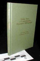 Walker Percy : a comprehensive descriptive bibliographyHobson, Linda Whitney - Product Image