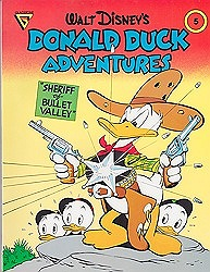 Walt Disney's Donald Duck Adventures: Sheriff of Bullet Valley (Gladstone Comic Album Series No. 5)by: Barks(Walt Disney), Carl - Product Image