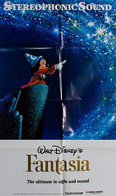 Walt Disney's Fantasia (MOVIE POSTER)Disney, Walt - Product Image