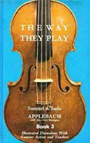 Way They Play Book 3, The: Illustrated Discussions with Famous Artists and Teachersby: Applebaum, Samuel & Sada - Product Image