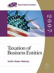 West Federal Taxation 2007: Business Entities, Professional Edition (Book Only/No Software)by: Smith, James E. - Product Image