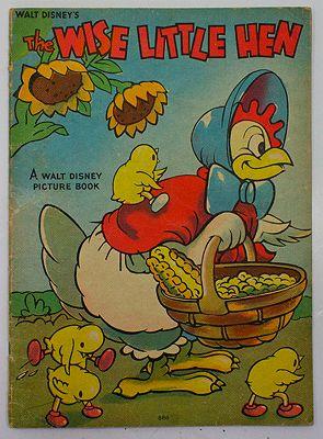Wise Little Hen, TheDisney, Walt, Illust. by: Walt  Disney Studio - Product Image