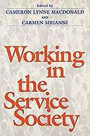 Working In Service SocietyMacdonald, Cameron - Product Image